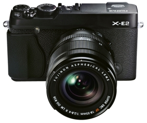 X-E2_Black_Front_High_angle_18-55mm